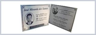 Placas e Fotos - Funerária São João